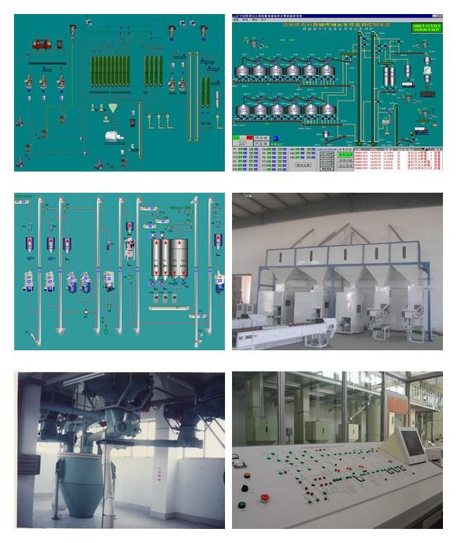 食品加工行业配料与控制系统