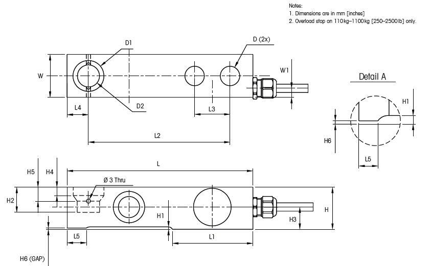 装在传感器内部的前置放大器转换成低阻抗的电压输出