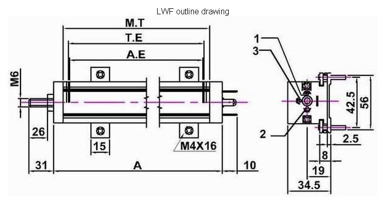 位移传感器汇总 德国volfa位移传感器