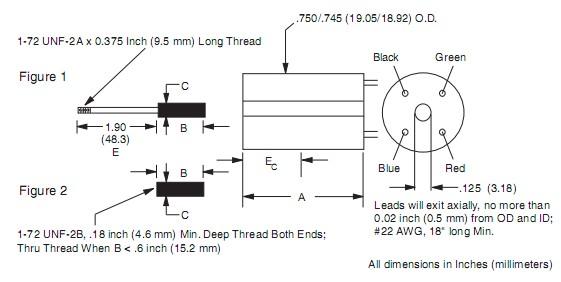200直线式位移传感器_美国trans-tek