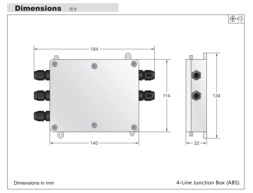 称重显示仪-j-box接线盒